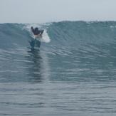 Eric at Scarlet Beach, Moem Point