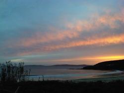 Sunset, Playa de Montalbo photo