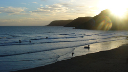 Gower Surf, Caswell Bay photo