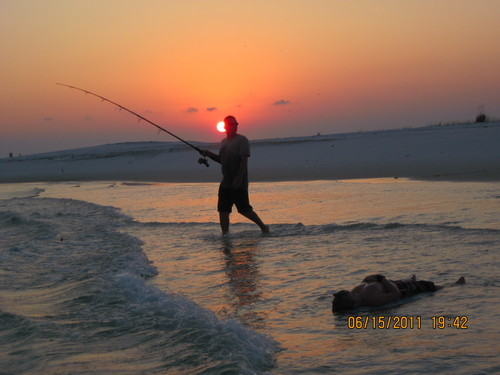 the good life, The Point -Fort Pickens