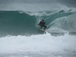 Micko at Fingal, Fingal Bay photo
