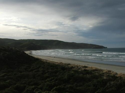 Looking to the SE, Otago Peninsula - Allans Beach
