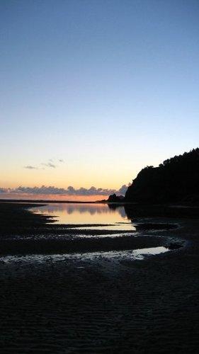 Across the estuary at Okiwi bar for a Dawnie, Okiwi - Whangapoua Estuary