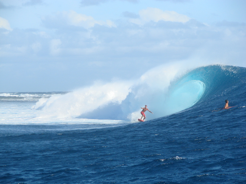 Cloudbreak surf break