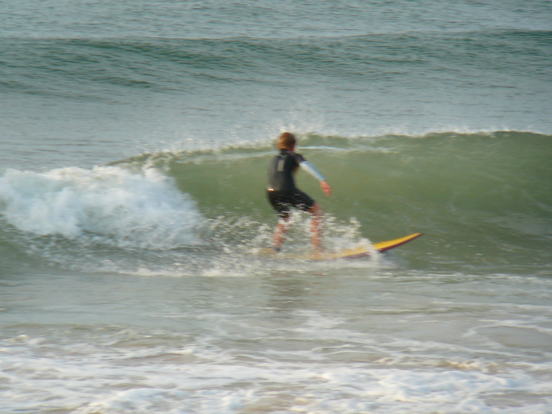 Salema surf break