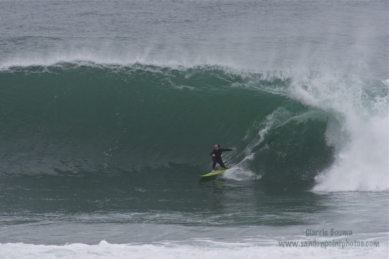 Sandon Point surf break