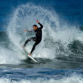Surfer at Wanda Beach Cronulla NSW Australia