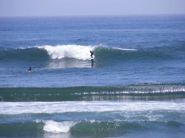 Ritoque surf break