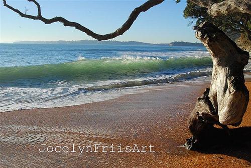 Red Beach surf break