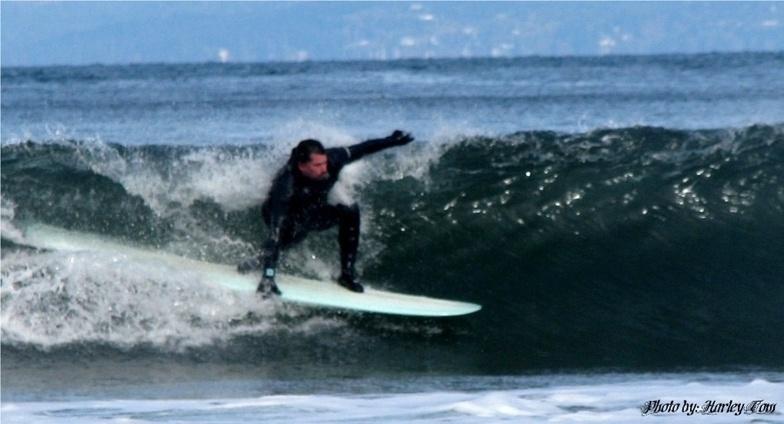 Crescent surf break