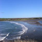 Falling tide, Newport