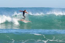 Dancing over the waves, El Sardinero - Primera photo