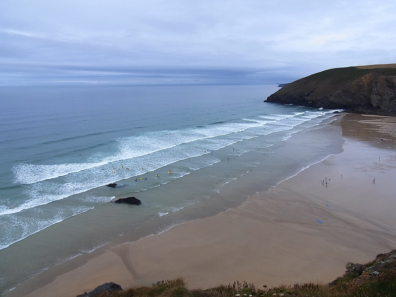 Mawgan Porth break guide
