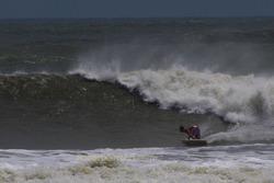 Hurricane Irene swell, St Augustine Beach Pier photo
