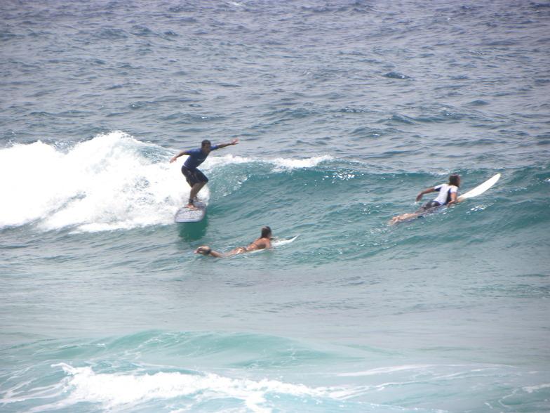 Wariruri surf break