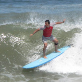 a good day surfing, Pampilla
