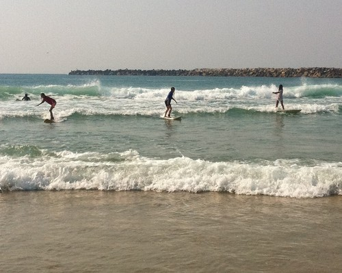 Girl power surf stars of Iluka, Iluka-North Wall