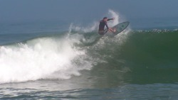 another 4ft day Saul klapping it!!, Cabo Ledo photo
