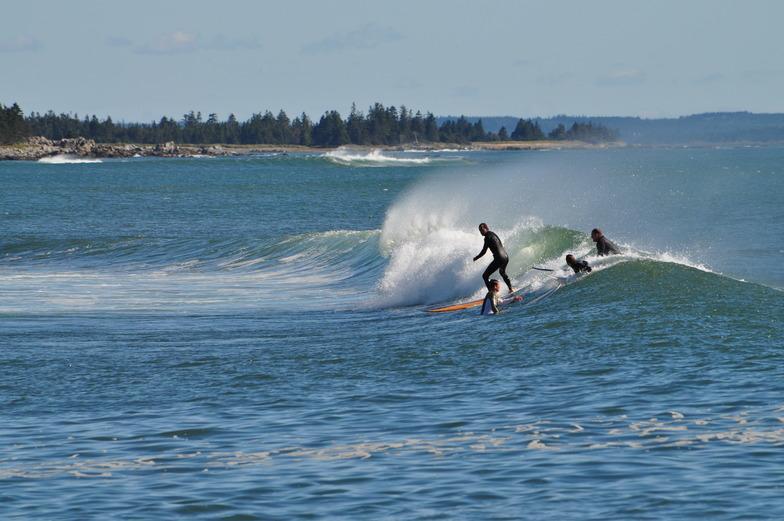 Broad Cove surf break