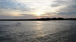 Sunset at Iztapa photo