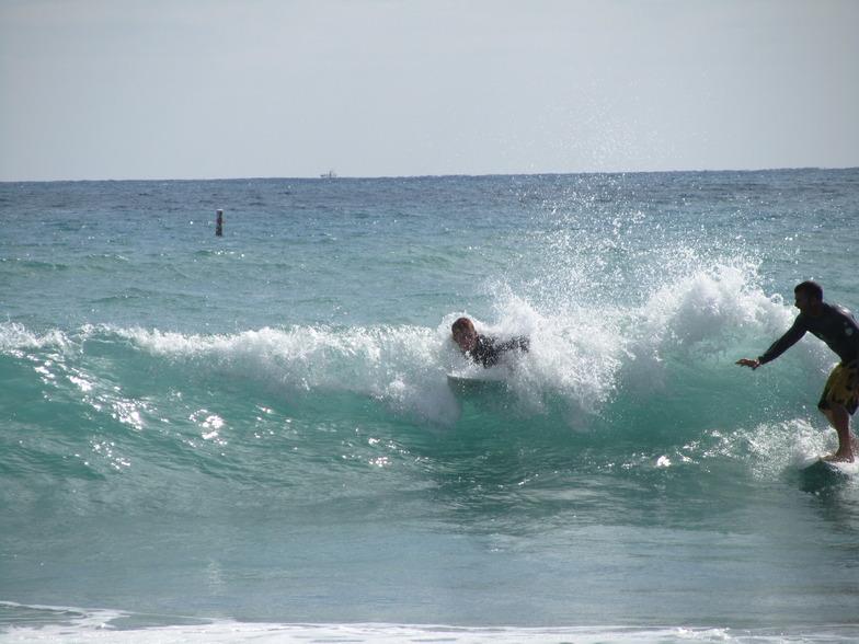 Naples Pier surf break