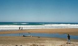 Empty Pit, Ocean Beach photo