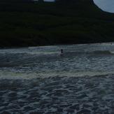 Surfing at Talofofo Bay, Talofofo/The Bay
