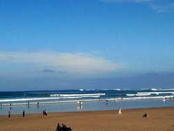 huge day at hendaye, Hendaye Plage photo