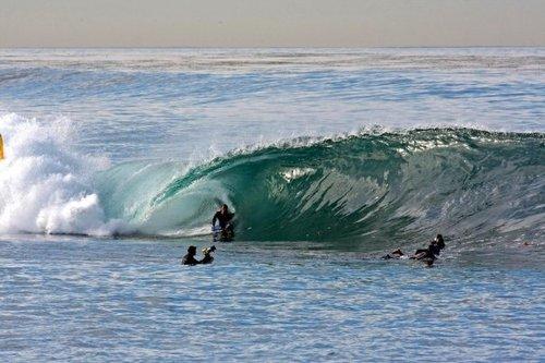 davidw on a slab., La Jolla Cove