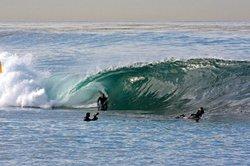 davidw on a slab., La Jolla Cove photo