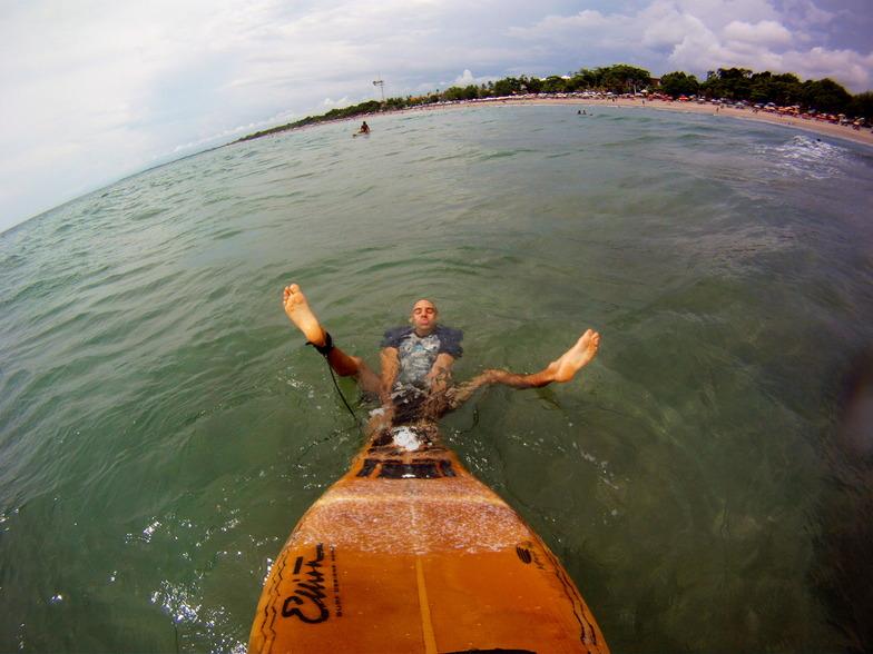 Blue Ocean surf break