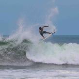 Binho Nunes - Pro Surfer, La Jaimacana (The Pipes)