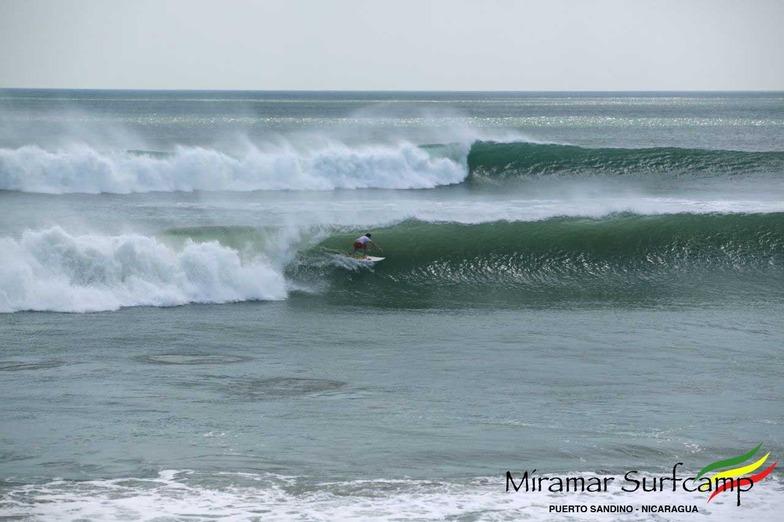 Big swell at Punta miramar