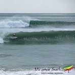 Big swell at Punta miramar