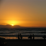 sun sets, Strand (Pipe)
