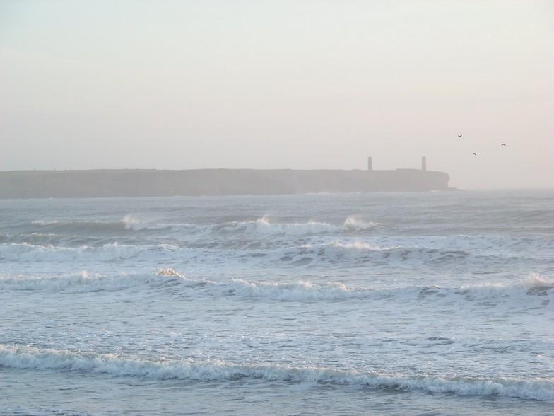 Tramore Left surf break