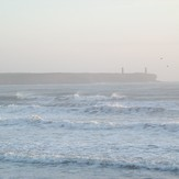 Nice day to be out surfing!, Tramore Left