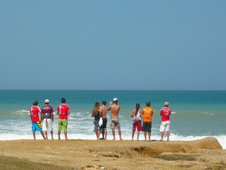 Funeral Point surf break