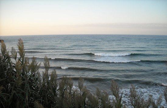 Cherchell Tizirine surf break
