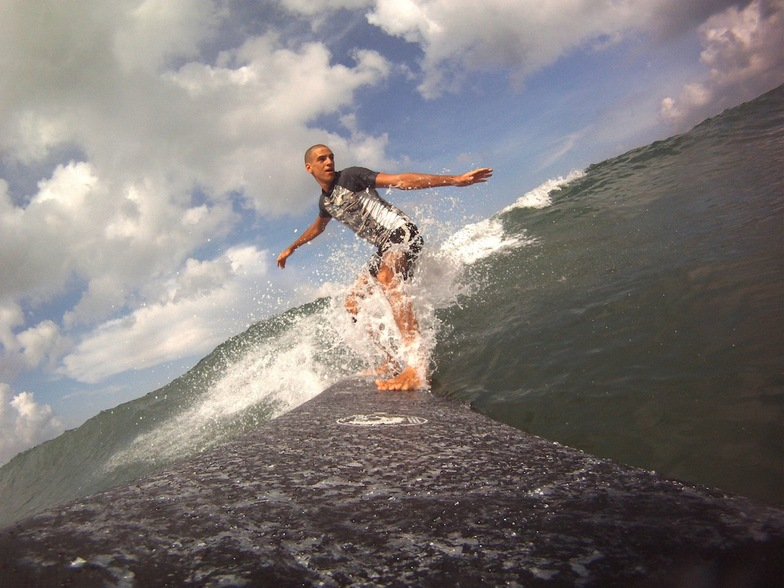 Halfway surf break