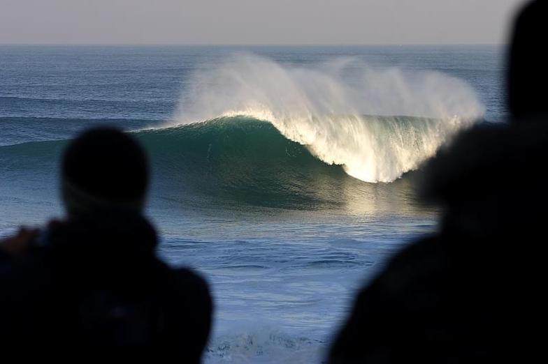 Best wave in Europe - Beach break, Praia do Norte