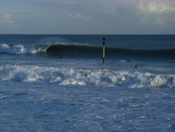 treustel beach high tide photo
