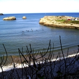 Arenillas Pleamar, Playa de Arenillas