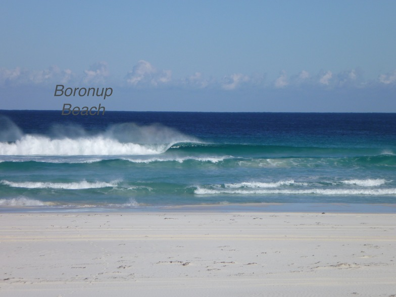 beautiful left, Boranup Beach