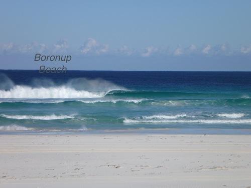 beautiful left, Boranup Beach