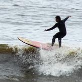 Longboarding in Pampilla