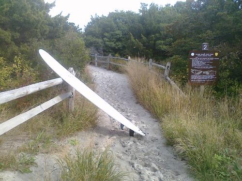 A2 Walkway to the Beach, Island Beach State Park