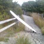 A2 Walkway to the Beach, Island Beach State Park