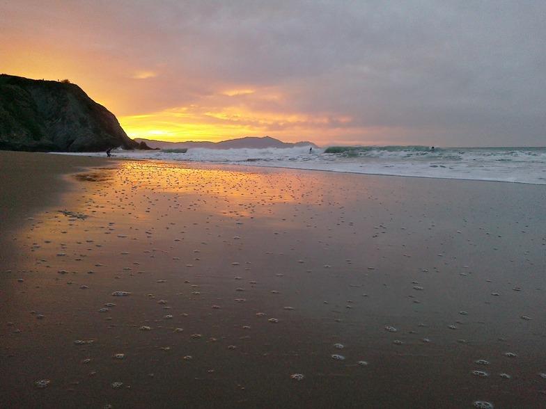 sunset, Playa de Arrietara