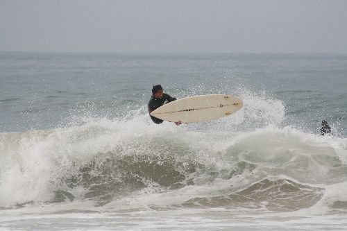 Devil's Rock surf break